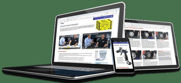 Training Online – Spectra Chrome